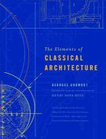 Cover image for The elements of classical architecture