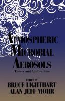 Cover image for Atmospheric microbial aerosols : theory and applications