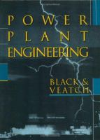 Cover image for Power plant engineering