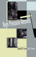 Cover image for High pressure vessels