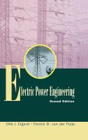 Cover image for Electric power engineering