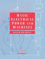 Cover image for Basic electrical power and machines