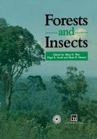Cover image for Forests and insects