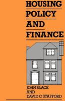 Cover image for Housing policy and finance