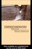 Cover image for Composite construction