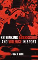 Cover image for Rethinking aggression and violence in sport