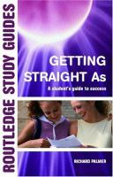 Cover image for Getting straight A's : a students guide to success