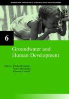 Cover image for Groundwater and human development