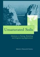 Cover image for Unsaturated soils : advances in testing, modelling and engineering applications
