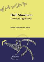 Cover image for Shell structures : theory and applications : proceedings of the 8th SSTA Conference, Jurata, Poland 12-14 October 2005