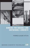 Cover image for Binders for durable and sustainable concrete