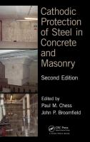 Cover image for Cathodic protection of steel in concrete and masonry
