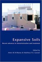 Cover image for Expansive soil : recent advances in characterization and treatment