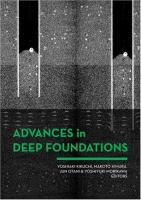 Cover image for Advances in deep foundations : proceedings of the International Workshop on Recent Advances of Deep Foundations (IWDPF07), Port and Airport Research Institute, Yokosuka, Japan, 1-2 February, 2007