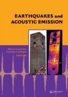 Cover image for Earthquakes and acoustic emission