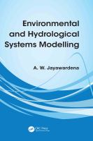 Cover image for Environmental and hydrological systems modelling