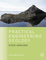 Cover image for Practical engineering geology