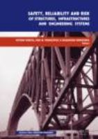 Cover image for Safety, reliability and risk of structures, infrastructures and engineering systems