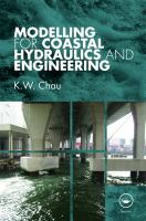 Cover image for Modelling for coastal hydraulics and engineering