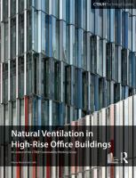 Cover image for Natural ventilation in high-rise office buildings
