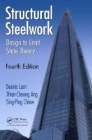 Cover image for Structural steelwork : design to limit state theory