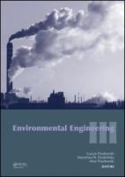 Cover image for Environmental engineering III