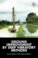 Cover image for Ground improvement by deep vibratory methods