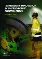 Cover image for Technology innovation in underground construction