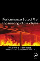 Cover image for Performance-based fire engineering of structures