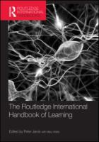 Cover image for The Routledge international handbook of learning