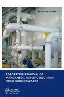 Cover image for Adsorptive removal of manganese, arsenic and iron from groundwater