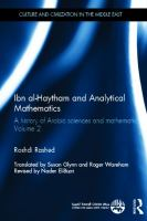 Cover image for A history of Arabic sciences and mathematics