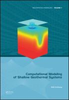 Cover image for Computational modeling of shallow geothermal systems