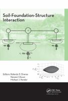 Cover image for Soil-foundation-structure interaction : selected papers from the International Workshop on Soil-Structure Interaction (SFSI 09), Auckland, New Zealand, 26-27 November 2009