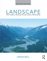 Cover image for Landscape : pattern, perception and process