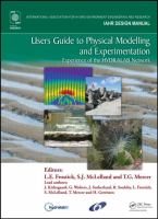 Cover image for Users guide to physical modelling and experimentation : experience of the HYDRALAB network