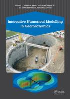 Cover image for Innovative numerical modelling in geomechanics