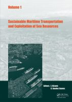 Cover image for Sustainable maritime transportation and exploitation of sea resources