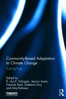 Cover image for Community-based adaptation to climate change : scaling it up