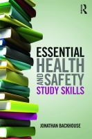 Cover image for Essential health and safety study skills