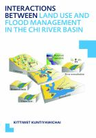 Cover image for Interactions between land use and flood management in the Chi River Basin