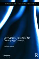 Cover image for Low carbon transitions for developing countries