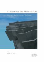 Cover image for Structures and architecture : concepts, applications and challenges