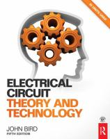 Cover image for Electrical circuit theory and technology
