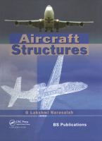 Cover image for Aircraft structures