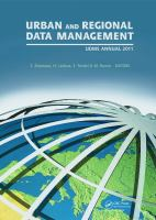 Cover image for Urban and regional data management : UDMS annual 2011 : proceedings of the Urban Data Management Society Symposium 2011, Delft, The Netherlands, 28-30 September 2011