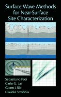 Cover image for Surface wave methods for near-surface site characterization