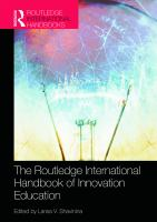 Cover image for The Routledge international handbook of innovation education