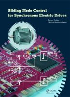 Cover image for Sliding mode control for synchronous electric drives