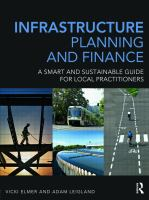 Cover image for Infrastructure planning and finance : a smart and sustainable guide